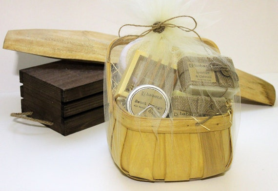 Handmade Soap Baskets : Gift basket unique handmade soap best