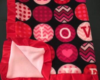 Valentine's Day Love Blanket