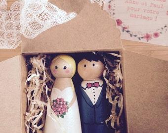 Gift wedding / engagement