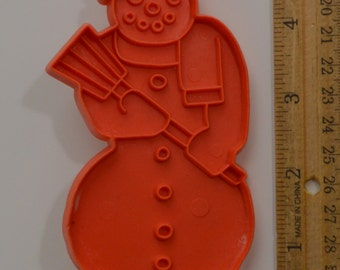 """Vintage STANLEY HOME PRODUCTS Snowman Cookie Cutter 
