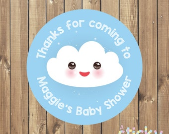 Personalized Baby Shower Stickers, Personalized Baby Shower Labels, Baby Shower Tags, New Baby Stickers, Kawaii Stickers, Baby Shower Favors