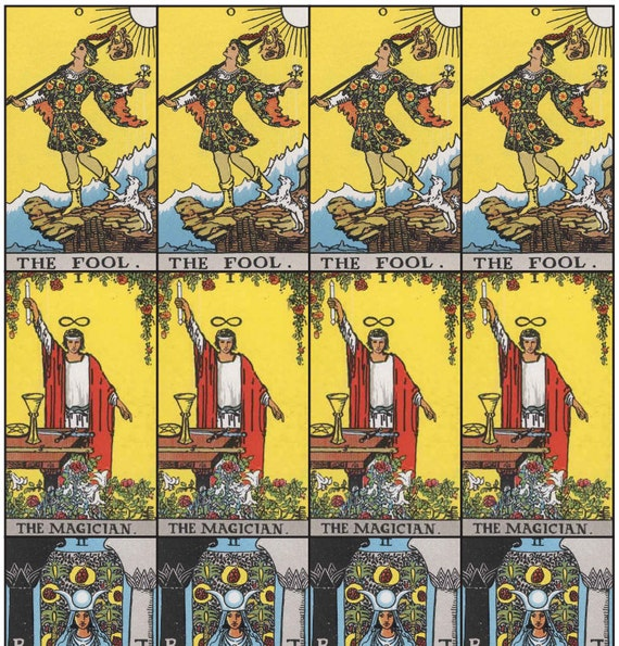 Divine image throughout printable tarot cards pdf