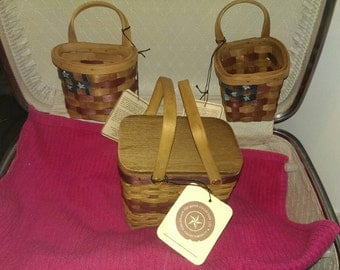 Boyds small baskets, 3