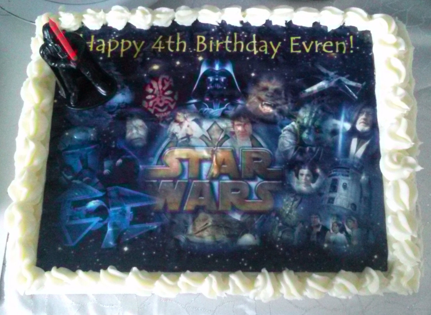 Star Wars Cake Topper Edible Images Star Wars Party