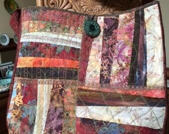 Batik Tote, Batik Folio, Large Tote, Large Carryall Tote