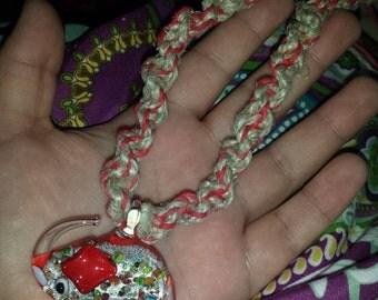 Elephant Hemp Necklace