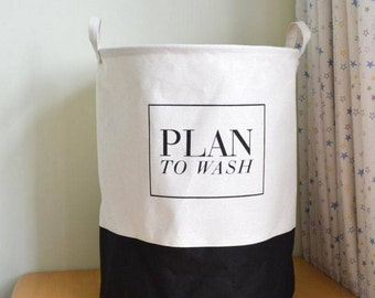 Plan To Wash Laundry/Toy Basket