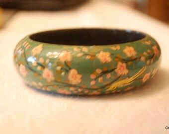 Hand Painted Laquer Bracelet
