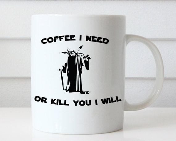 listing  yoda mug funny coffee mugs