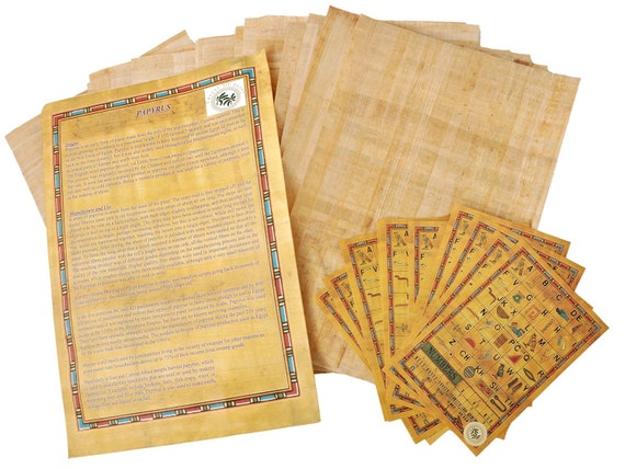 Egyptian Papyrus Blank Sheets