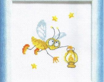 Cross Stitch Kit Firefly
