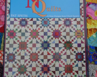 Amazing Nickel Quilts by Pat Speth / 56 page softcover book c.2008