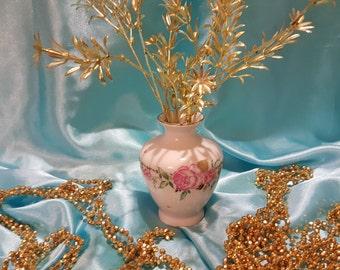 Lomonosov porcelain flower vase made in USSR
