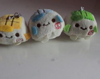 Kawaii/ Cute tofu charm- UK ONLY
