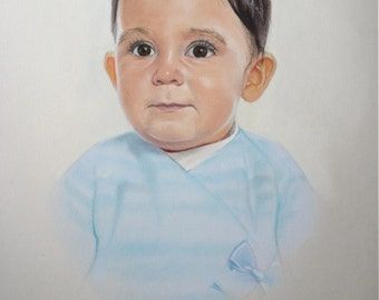 Ivan pastel portrait