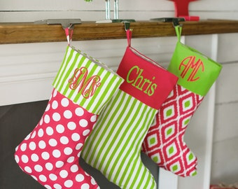 """Shop """"monogrammed christmas stockings"""" in Accessories"""