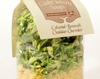 Colonial Broccoli Cheddar Chowder  Cooke Tavern Soup Mix
