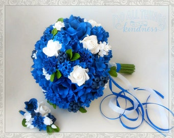 Wedding bouquet boutonniere as a gift