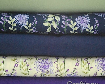 Fat Quarter Bundle - 100 % Cotton - Rose and Hubble  Fabric -  Quilting - Sewing Projects - UK Seller