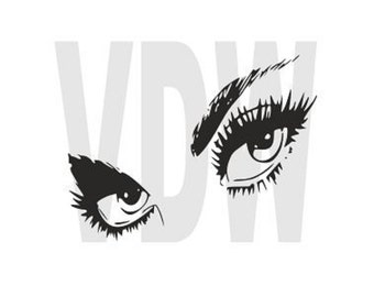 Only have eyes for you Cutting Files Silhouette SVG, DXF and EPS vinyl cut Files, for Cameo and Cricut Explore machines