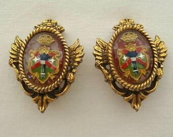 Medieval style earrings