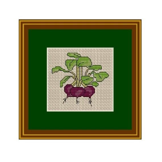 Beets Cross Stitch Pattern Instant Download Pdf Pattern