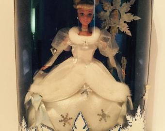 1996 Holiday Princess Walt Disney's Cinderella Barbie