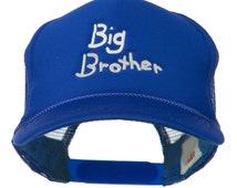 Big Brother Embroidered Youth Foam Mesh Cap