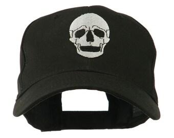 Halloween Skeleton Skull Embroidered Cap