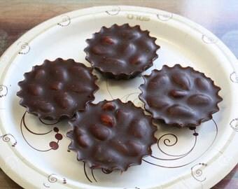 Organic Roasted Almonds Chocolate