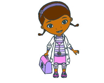 Doc McStuffins Machine Embroidery