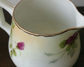 Handpainted Lemonade Pitcher in Porcelain by Nippon