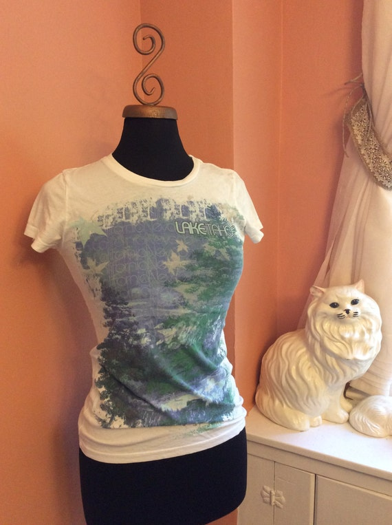 Vintage Lake Tahoe T-Shirt, 90s Tourist (A762)