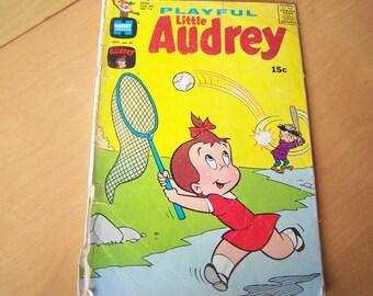 Vintage Comic Book - Playful Little Audrey - Sept. 1969 No. 84 by Harvey Picture Magazines