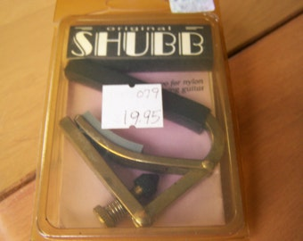 Shubb Nylon Guitar Capo - C2 in original package