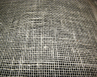 fabric jute nature sackcloth excess width 50 cm wide  19,68""