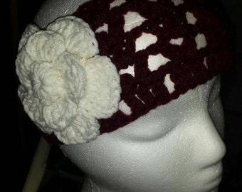 Fashionable crochet handbands