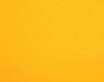 03 - Corn Yellow - Merino Wool Felt