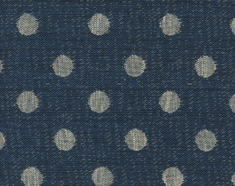 cotton double weave fabric, with spots