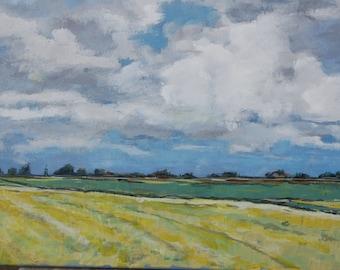 Dutch sky, clouds Friesland