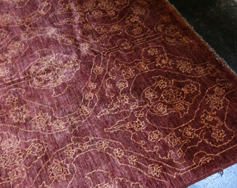 """Modern Designed Rug , Natural Dyed and Hand-knotted in Pakistan. hand-spun wool, Size: 5'.8"""" x 7'.10"""""""