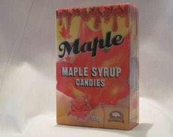 Maple Leaf - Syrup Candies