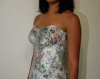 Designer Corset with detachable Push Up - Made to Order
