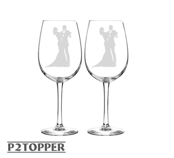 Custom Wedding Wine Glasses Canada : Custom Wedding Wine Glasses, Wine Glasses, Engraved Wedding Keepsakes ...