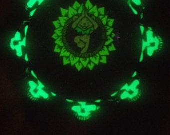 Gd 50th GLOW 2INCH Heady grateful dead hat pin