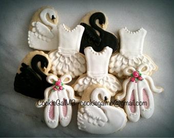 Ballet/Swan Lake Themed Cookies