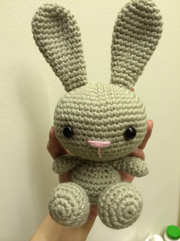 Crochet Bunny Rabbit Pattern Amigurumi Beginner Cute
