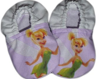 Baby fairy Tinker Bell shoes