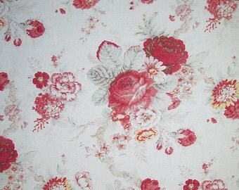 Waverly Norfolk Rose color Rose, Fabric