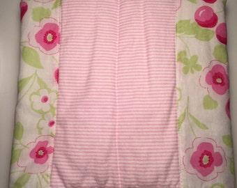 Stroller Blanket/Lovie/Stroller Quilt/Baby/NewBaby/Gift/Pregnancy/Nursery/Blanket/Changing pad